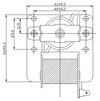 Ul Air Blower on centrifugal switch diagram