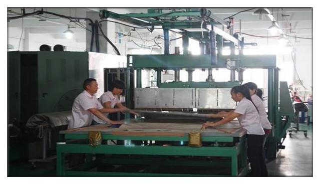 welding process using big mould