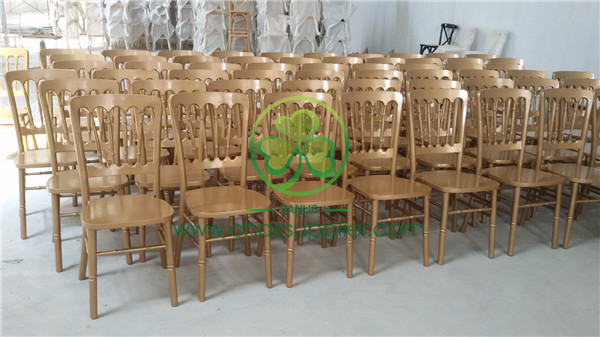 gold wooden chateau chair /wooden Versailles chair