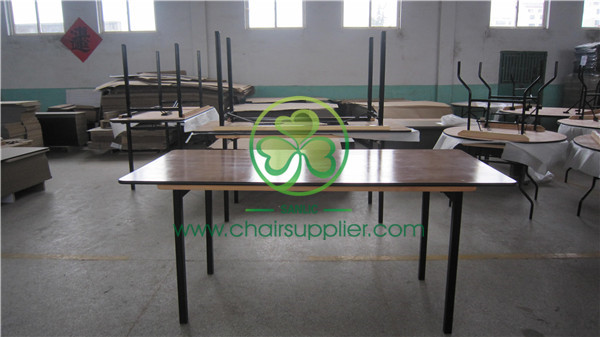 plywood folding table / banquet folding table