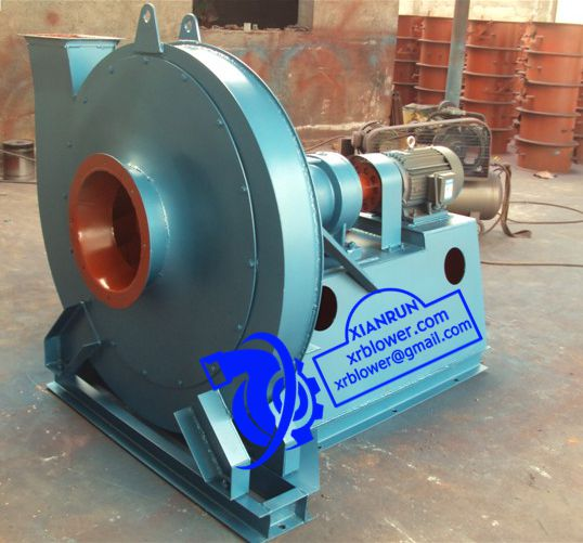 Xianrun Blower Centrifugal Fan Application for Gas System of Iron and Steel Plant