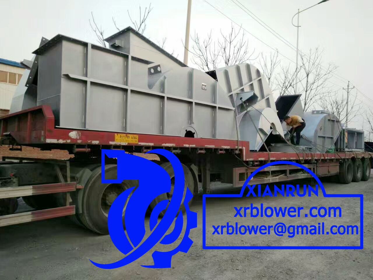 High Temperature Centrifugal Fan by Xianrun Blower