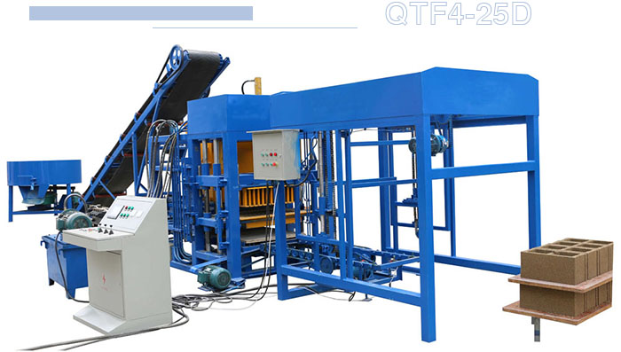 automatic ecment hollow block brick making machine