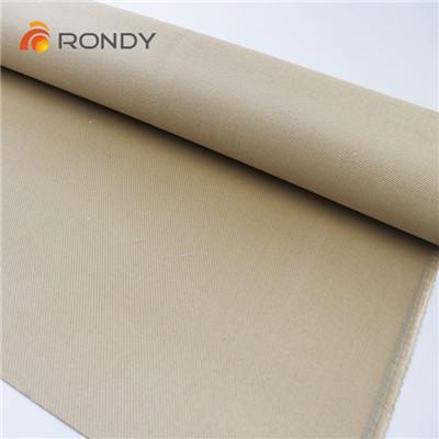 vermiculite coated silica fabric
