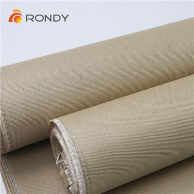 vermiculite coated silica cloth