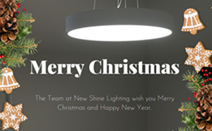 merry christmas from new shine lighting