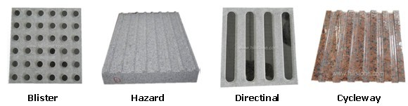 G603 Granite Flamed Tactile Paving Blister Manufacturers