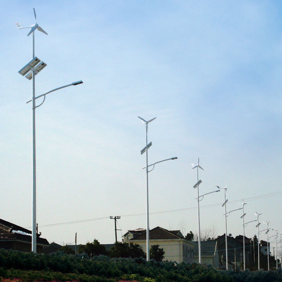 400W Wind Solar Hybrid Street Light