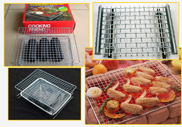 Chrome Plated Barbecue Grill Wire Mesh Manufacturers