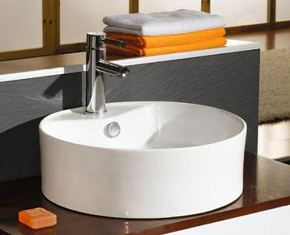 Fashion Design Pedestal Sink Storage Wash Basin