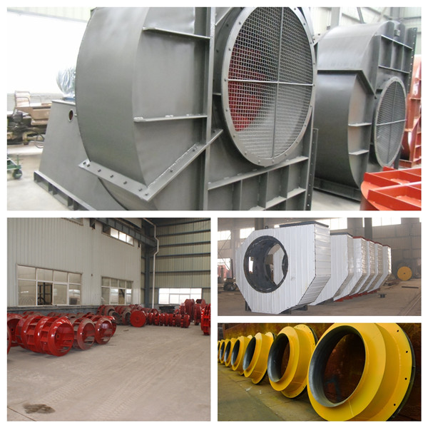 Industrial Blower Name : High capacity double suction fans for power plant
