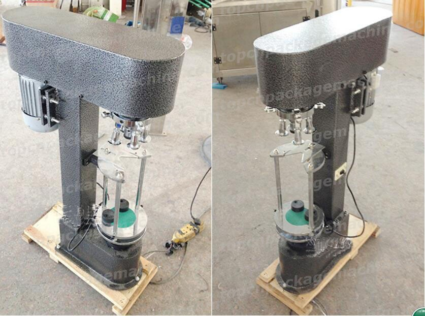 Glass Bottles Aluminum Metal Caps Ropp Capping Machine