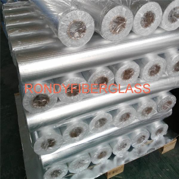 aluminum foil fiberglass