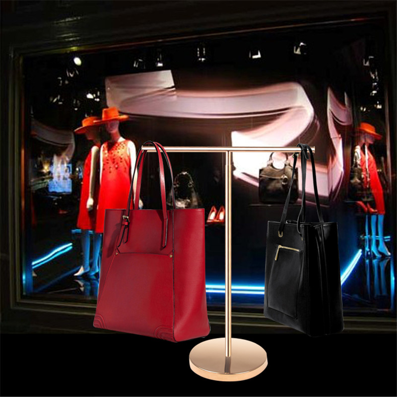 display stand handbag