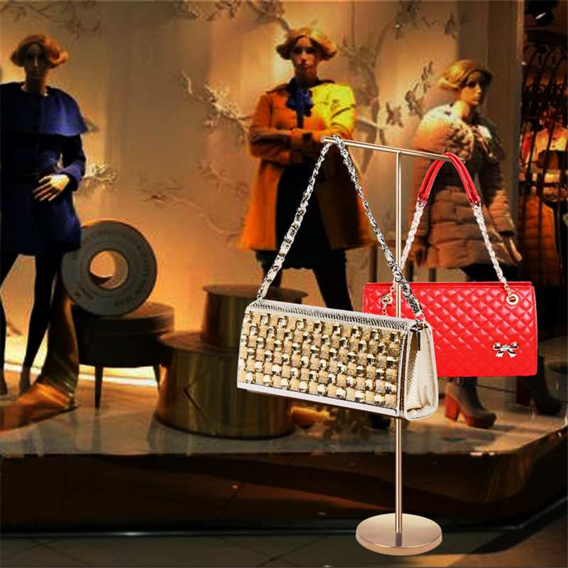 handbag stand display