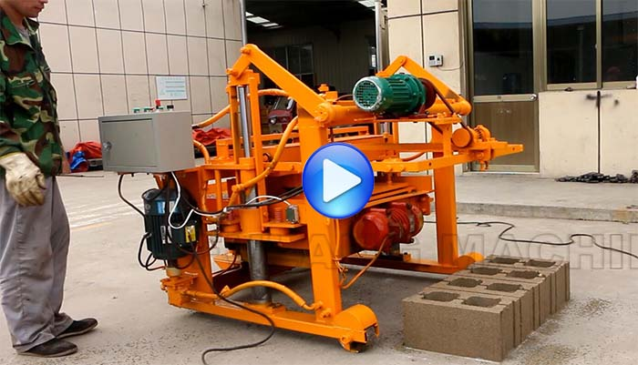mobile manual block machine