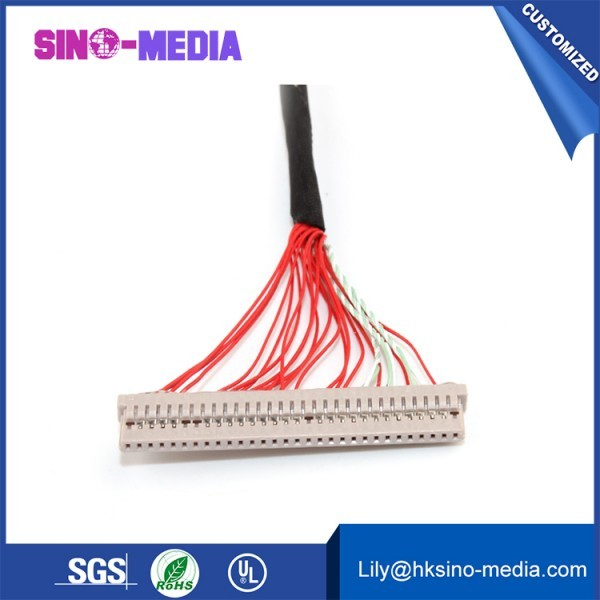 LVDS CABLE, FI-VHP50CL-A LVDS Cable,IPEX 20319 50P cable,IPEX 50P Cable, F-VHP 50P LCD Cable,IPEX LCD LVDS CABLE.