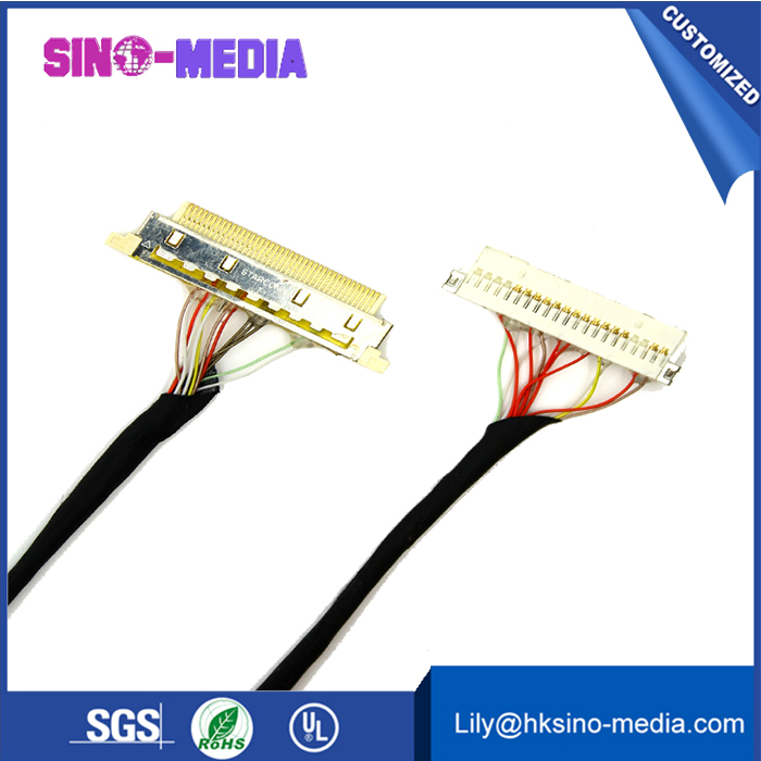 factory LED Driver Board To T-Con LVDS Ribbon ffc Cable
