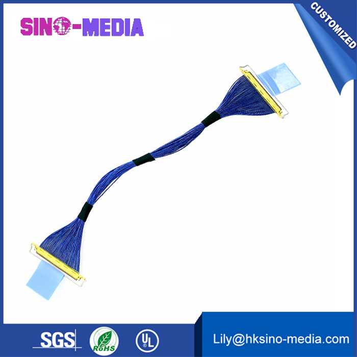 30 Pin FI-X DF19 DF14 Series 1.25mm Pitch LVDS Cable