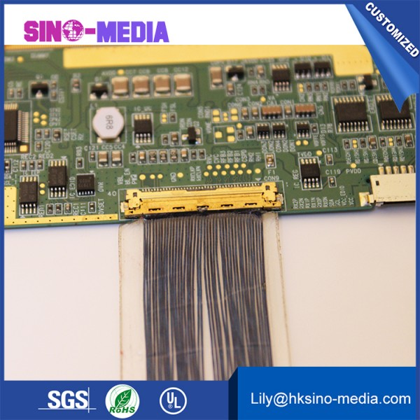 40 pin lvds cable awm  Shenzhen, China IPEX 20531-030T-02 lvds cable