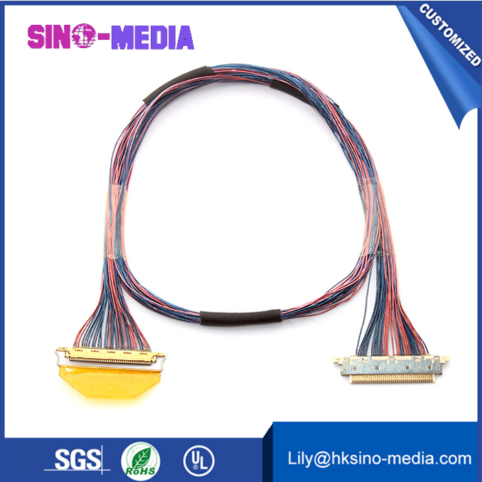 30 pin lvds cable awm  Shenzhen, China IPEX 20531-034T-02 lvds cable