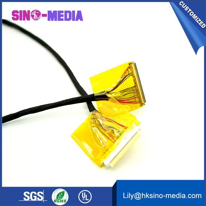 Shenzhen, China custimized awm  IPEX 20531-034T-02 lvds cable fo IPEX 205