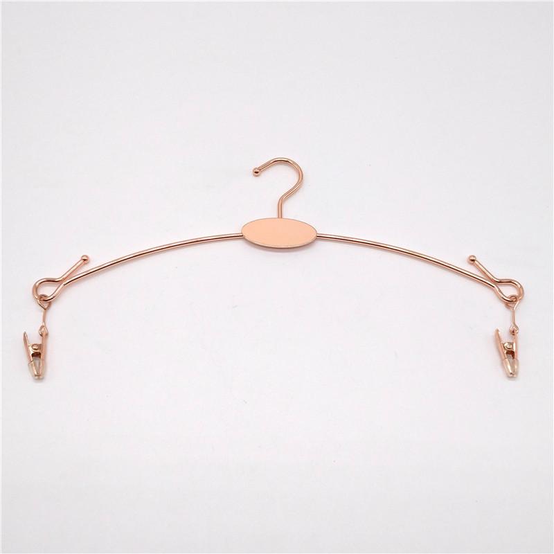 Custom Metal Coat Hanger Rose Gold Brass Hanger