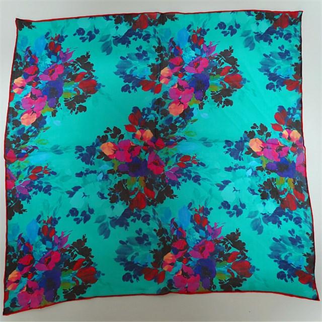 scarf supplier china, custom silk scarf, digital printed silk scarf