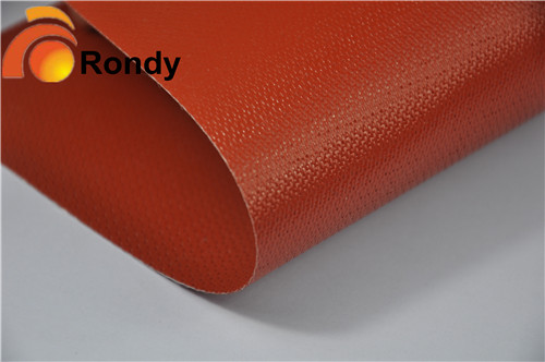 glass fiber coated silicone rubber