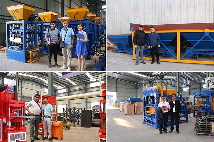 many customer come to our factory