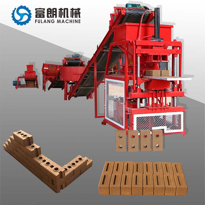 FL2-10 automatic clay brick machine
