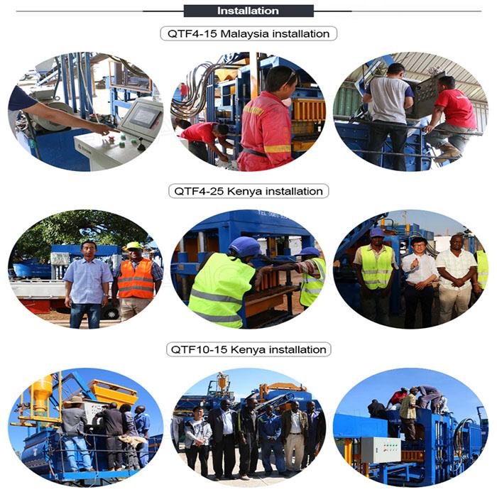 machine installation in Kenya