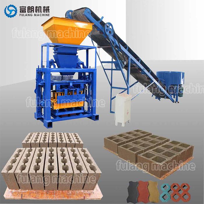 small manual concrete block machine