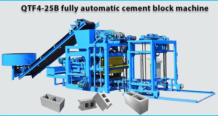 concrete bricks manufacturing machines