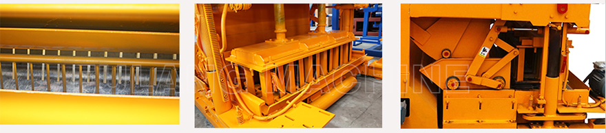 cement block laying machine