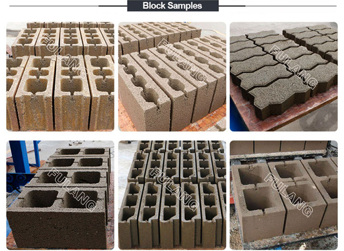 cement brick making molds