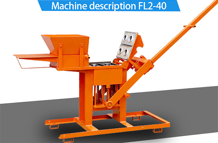 manual compressed earth block machine