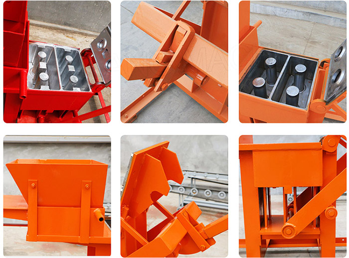 manual clay brick making machine without power