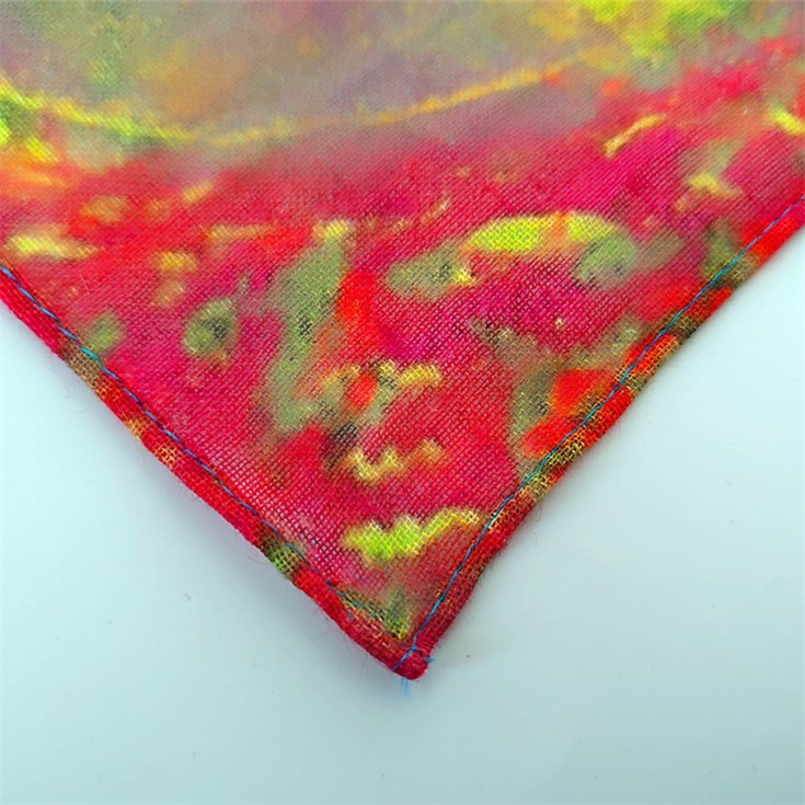 Bandana scarf printing service for the cotton and linen