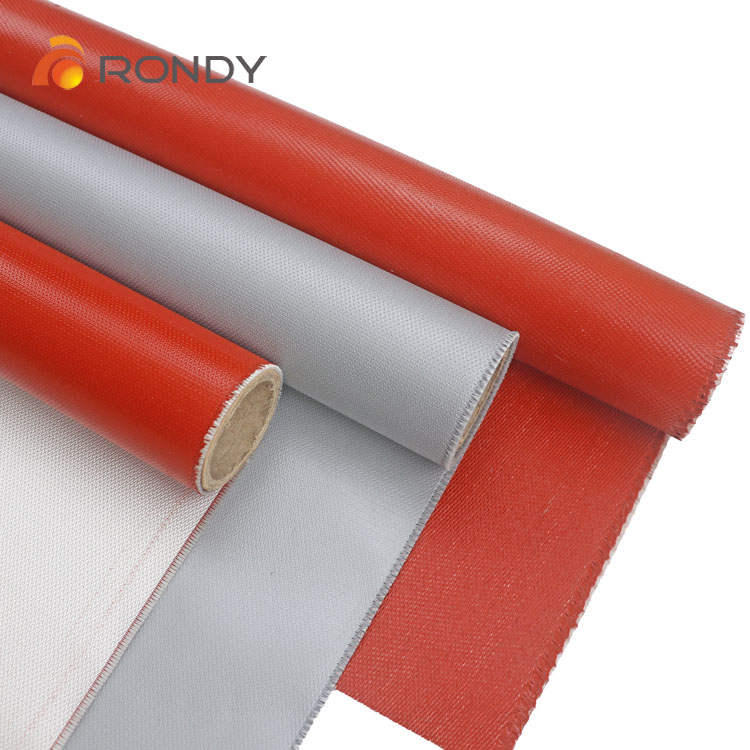 silicone coated fiberglass cloth for high temperature protection