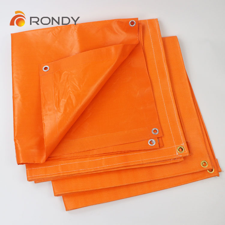 fire blanket coated PVC fiber glass
