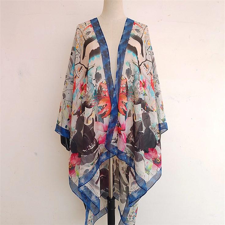 custom silk kimono
