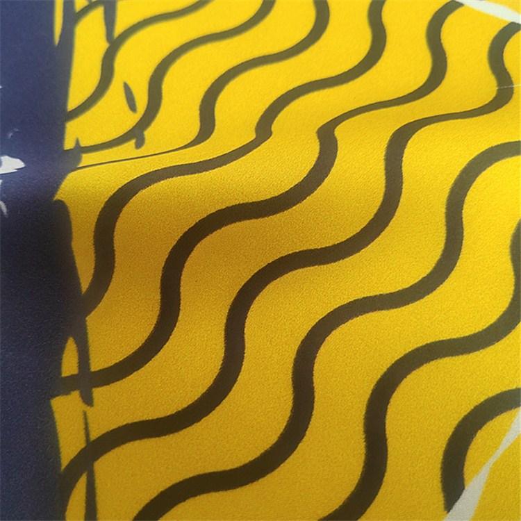 custom digital print silk scarf