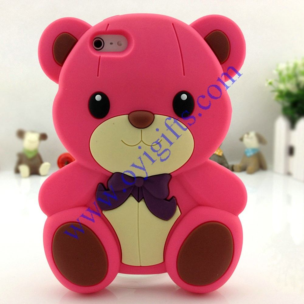 best service 20c63 935db OYI Gifts Co.,Ltd: Gloomy Bear 3D Cartoon Silicone cell phone cases